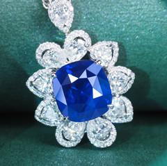 蓝宝石吊坠值不值得成为首选首饰?