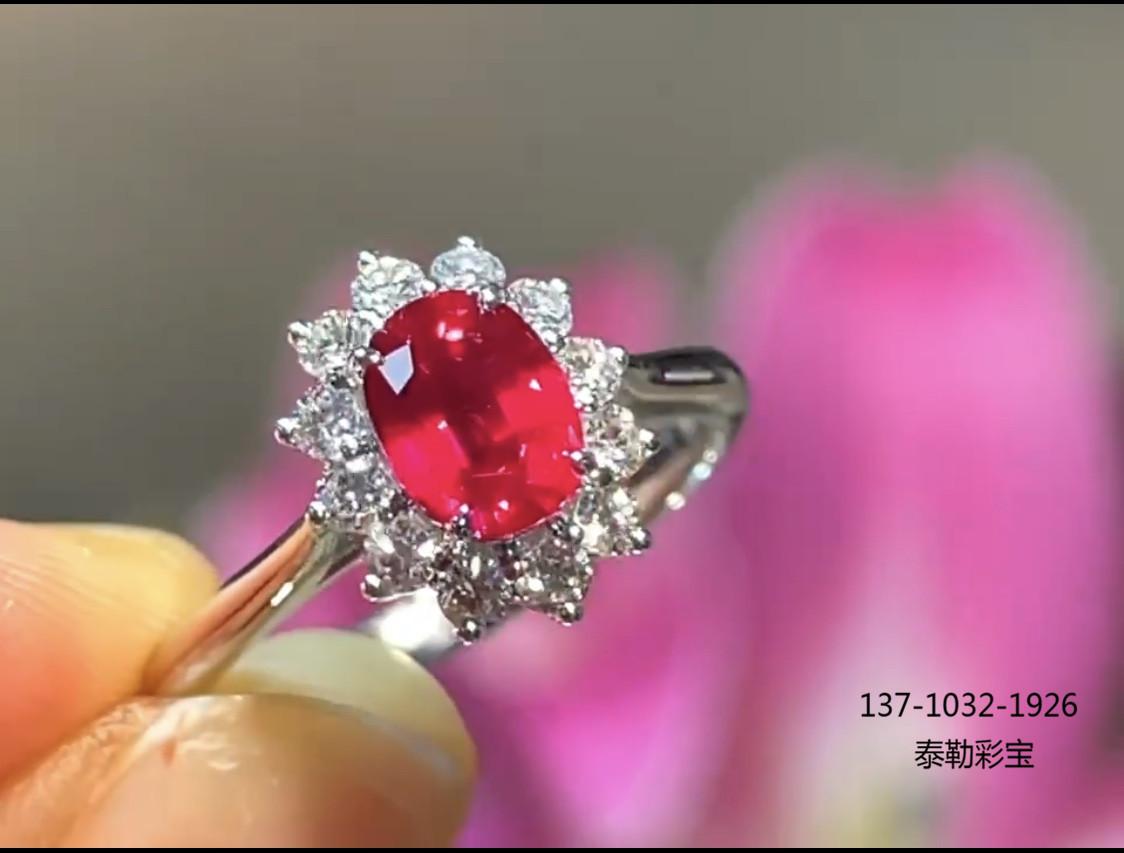 结婚买个红宝石戒指可不可以?