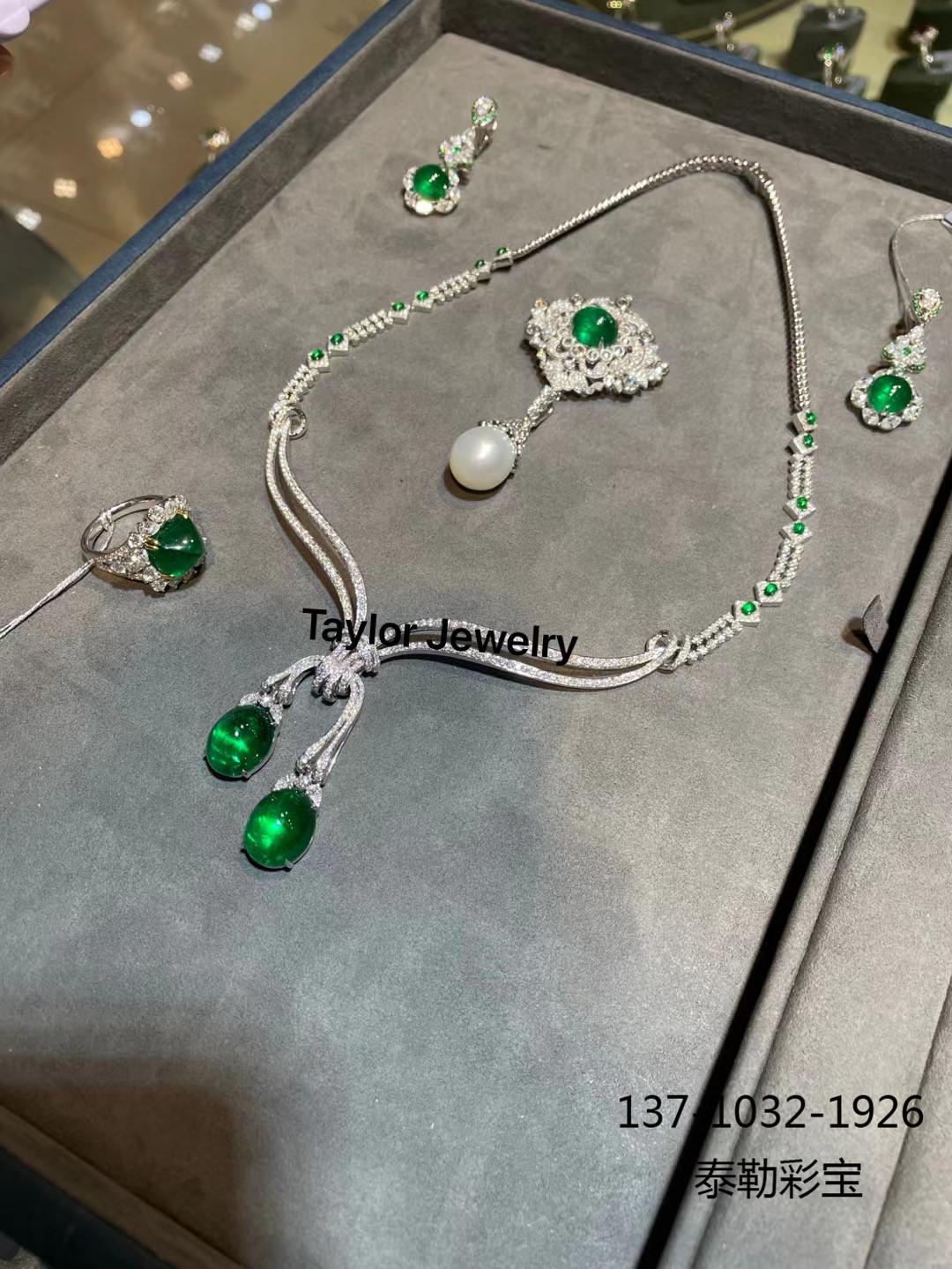 一套具有高级感的珠宝,可以陪伴女人一生!